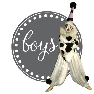 BOYS BAG TAGS